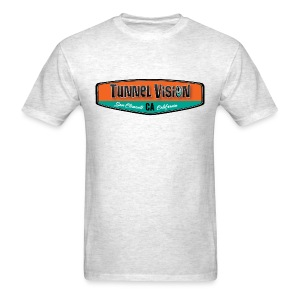 Tunnel Vision Board Badge - Men's T-Shirt