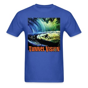 Tunnel Vision Wave - Men's T-Shirt