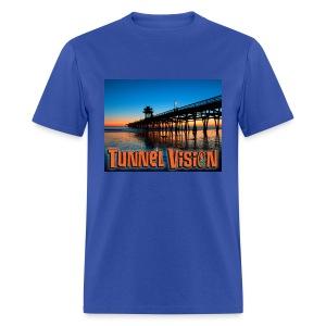 Tunnel Vision Pier Design - Men's T-Shirt