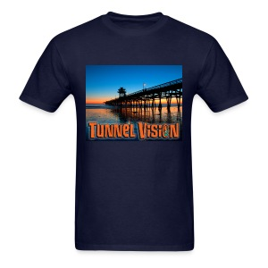 Tunnel Vision Pier Design - Men's T-Shirt