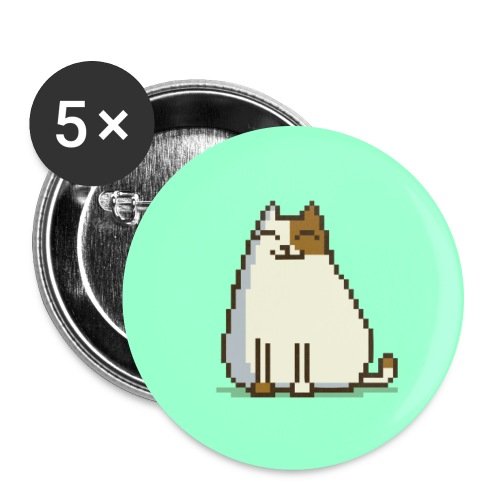 Friday Cat №15 - Large Buttons