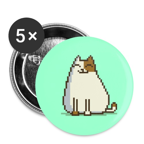 Friday Cat №15 - Small Buttons