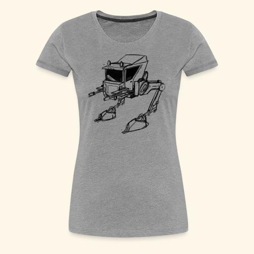 Walker Concept Art Tee - Women's Premium T-Shirt
