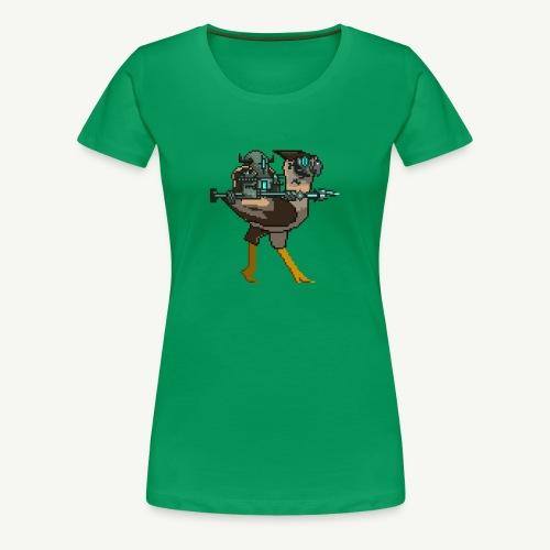 Stone - Birdfight - Women's Premium T-Shirt