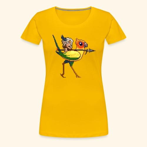 Miko - Birdfight - Women's Premium T-Shirt