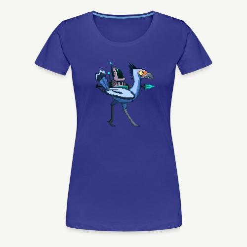 Spaceman - Birdfight - Women's Premium T-Shirt