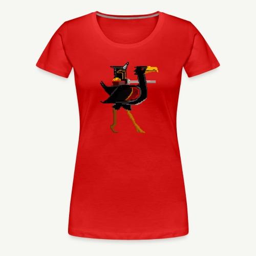 Black Knight - Birdfight - Women's Premium T-Shirt