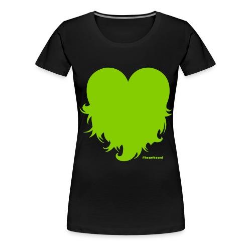 Heartbeard  - Women - Women's Premium T-Shirt