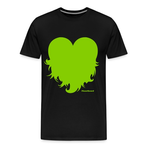 Heartbeard - Men - Men's Premium T-Shirt