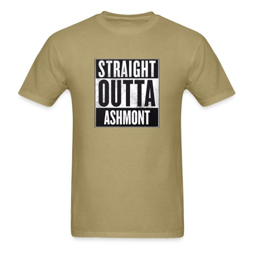 Straight Outta Ashmont - Men's T-Shirt