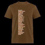 T-Shirts ~ Men's T-Shirt ~ Cleveland Franchise QBs
