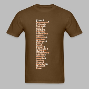 Cleveland Franchise QBs - Men's T-Shirt