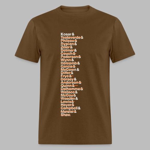 Cleveland Franchise QBs - Men's T-Shirt