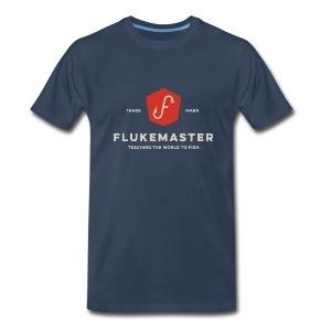 Flukemaster Official Men's T: Blue - Men's Premium T-Shirt