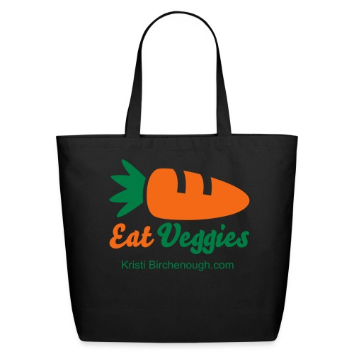 Eat Veggies Shopper - Eco-Friendly Cotton Tote
