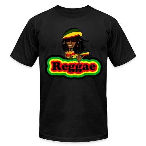 Reggae Smoke Weed T-Shirt - Men's Fine Jersey T-Shirt