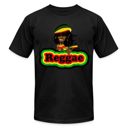 Reggae Smoke Weed T-Shirt - Men's  Jersey T-Shirt