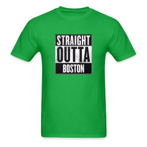 Straight Outta Boston - Men's T-Shirt