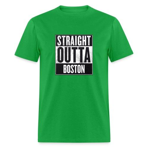 Straight Outta Boston - Men's T-Shirt
