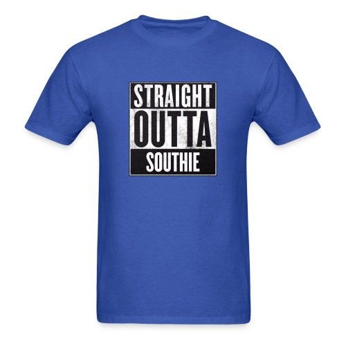 Straight Outta Southie - Men's T-Shirt