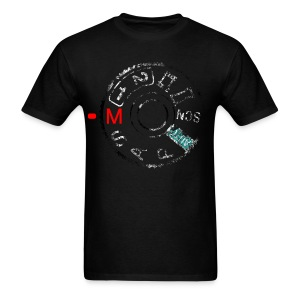 Shoot the A7 manually (distressed) - Men's T-Shirt