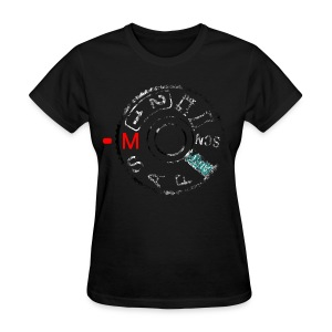 Shoot the A7 manually (distressed) - Women's T-Shirt