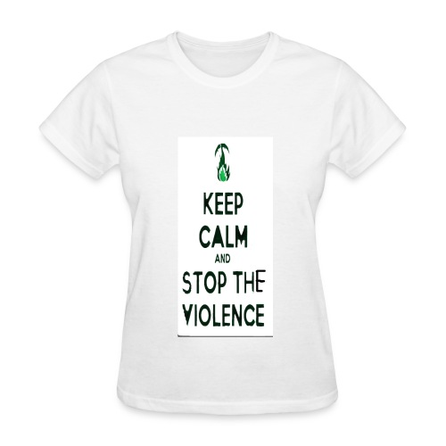 Stop The Violence Women - Women's T-Shirt