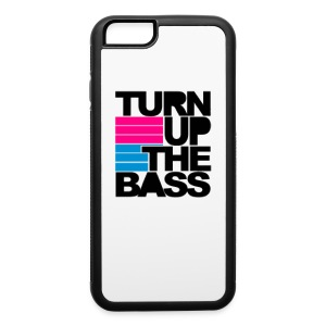 Turn Up The Bass Phone Case - iPhone 6/6s Rubber Case