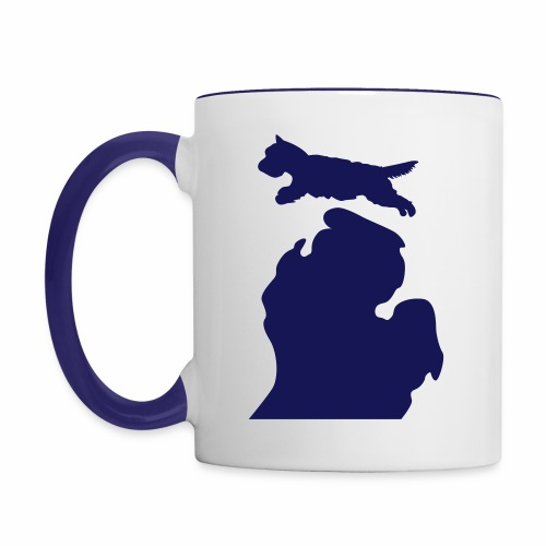 West Highland White Terrier mug - Contrast Coffee Mug
