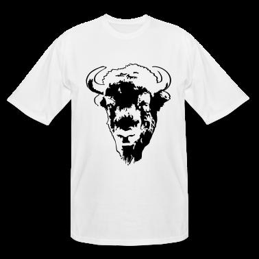 Buffalo bison bull t shirts t shirt spreadshirt for Custom t shirts buffalo ny
