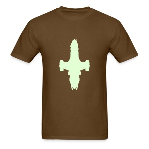 Serenity (glow) - Men's T-Shirt
