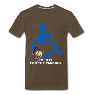 T-Shirts ~ Men's Premium T-Shirt ~ I'm in it for the parking