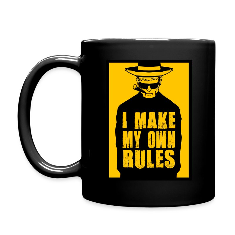 I Make My Own Rules - Full Color Mug