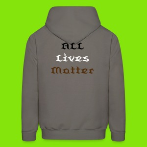 Men's All Lives Matter Pull-Over Hoodie - Men's Hoodie
