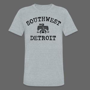 Southwest Detroit Aztec Eagle - Unisex Tri-Blend T-Shirt