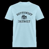T-Shirts ~ Men's T-Shirt ~ Southwest Detroit Aztec Eagle