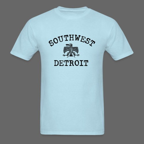 Southwest Detroit Aztec Eagle - Men's T-Shirt