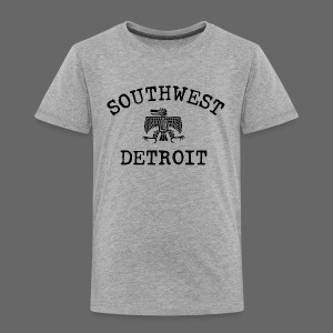 Southwest Detroit Aztec Eagle - Toddler Premium T-Shirt