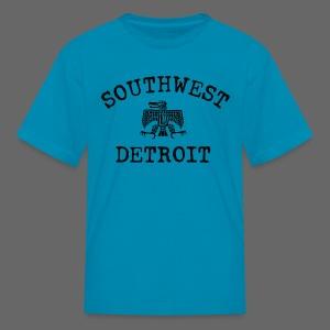 Southwest Detroit Aztec Eagle - Kids' T-Shirt