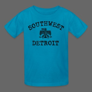 Southwest Detroit Aztec Eagle - Kids' T-Shirt