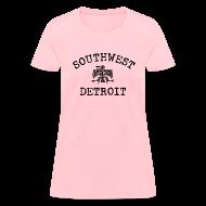 Women's T-Shirts ~ Women's T-Shirt ~ Southwest Detroit Aztec Eagle