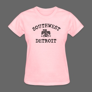 Southwest Detroit Aztec Eagle - Women's T-Shirt