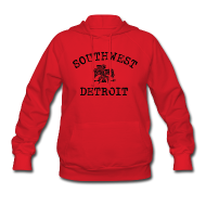 Hoodies ~ Women's Hoodie ~ Southwest Detroit Aztec Eagle