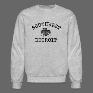 Southwest Detroit Aztec Eagle - Crewneck Sweatshirt
