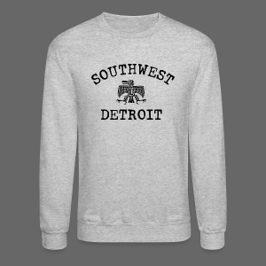 Southwest Detroit Aztec Eagle - Crewneck Sweatshirt