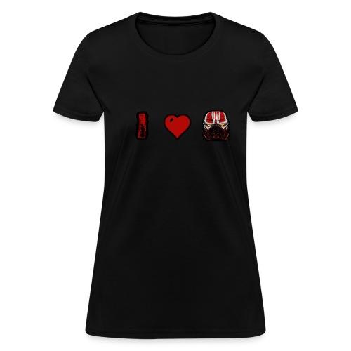 I Heart Clown Women's T-Shirt - Women's T-Shirt