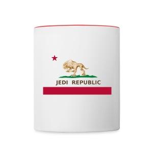 Jedi Republic Mug - Contrast Coffee Mug