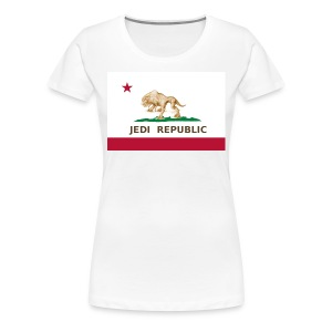 CA Jedi Republic - Women's Premium T-Shirt