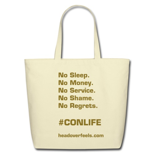 Con Life Tote - Eco-Friendly Cotton Tote