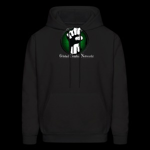 (FRONT) Global Combat Network (BACK) Support Local Combat Sports - Men's Hoodie